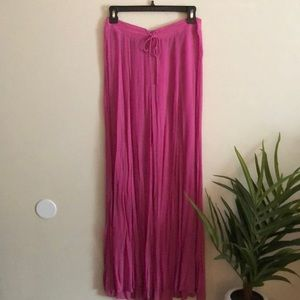Free People magenta pants